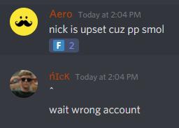 wrong acc